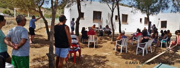 LA ASOCIACIÓN DE VECINOS DE COBATICAS-LA JORDANA y ACUDE FIRMAN UN CONVENIO DE COLABORACIÓN