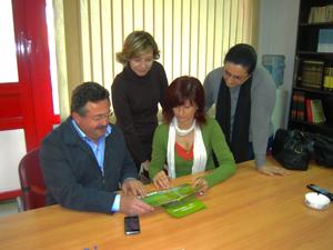 PRESENTACIÓN A LOS GRUPOS MUNICIPALES DEL AYUNTAMIENTO DE LORCA