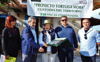 EL ÁREA DE BOTÁNICA DE LA UNIVERSIDAD DE MURCIA PREMIO TORTUGA MORA A LA CONSERVACIÓN 2018