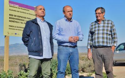 ACUDE FINALIZA LAS ACCIONES DE CONSERVACIÓN EN LA FINCA LA ALCANARA